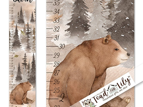 Bear Forest GROWTH CHART