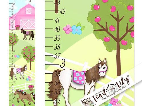 Pretty Horses GROWTH CHART