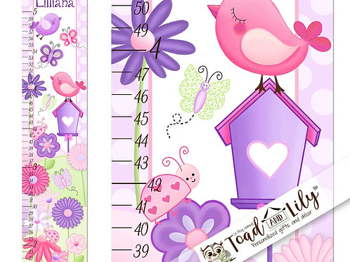 Garden Friends GROWTH CHART