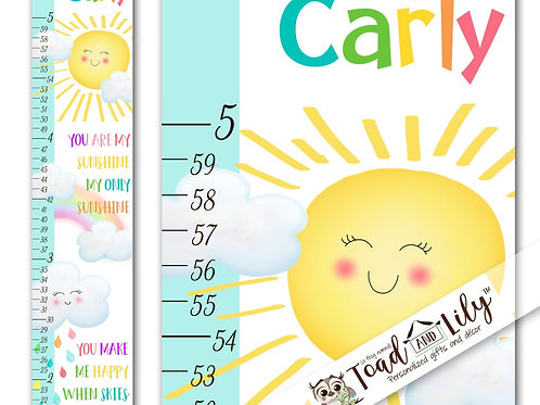 Rainbow Sunshine GROWTH CHART