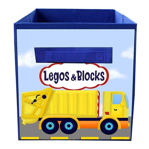 Garbage Truck FABRIC BIN