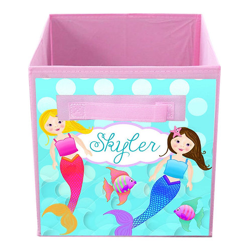 Mermaid FABRIC BIN