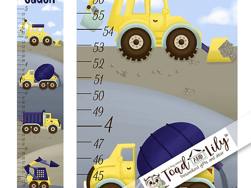 Construction Trucks GROWTH CHART