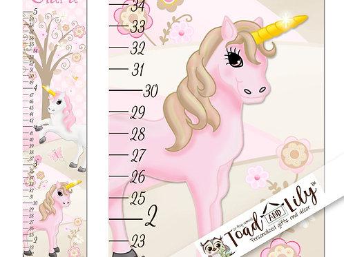 Pink Unicorn GROWTH CHART