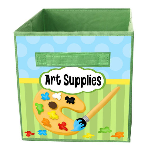 Art Supply FABRIC BIN