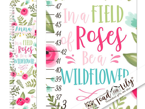 Roses and Wildflowers GROWTH CHART