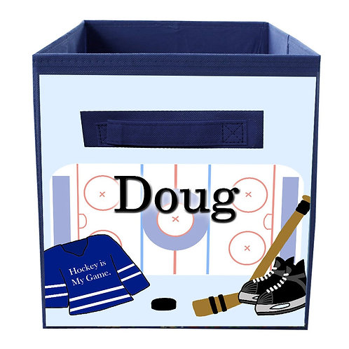 Hockey FABRIC BIN
