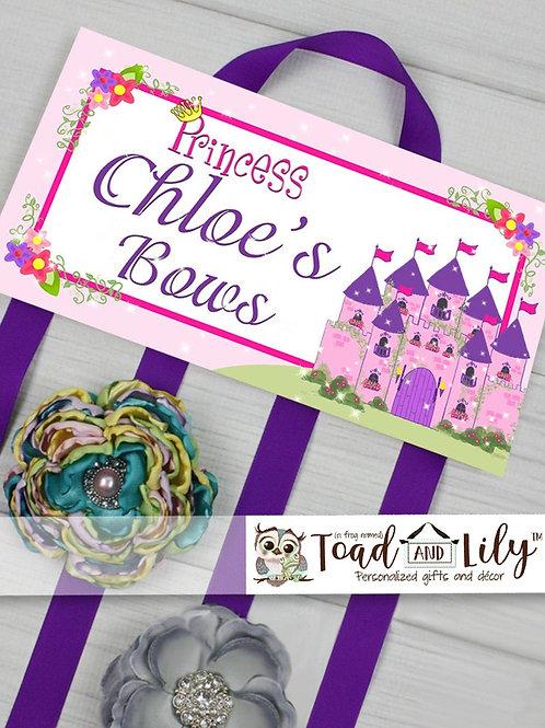 Princess HAIR BOW HOLDER