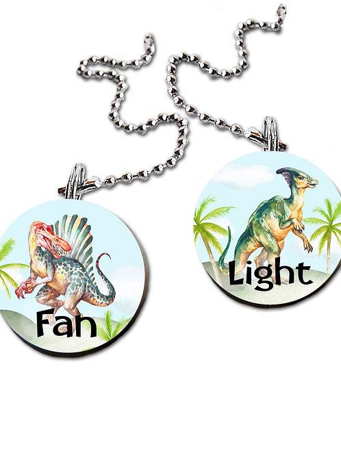 Dinosaur FAN PULLS