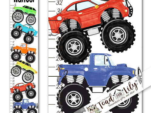 Monster Truck GROWTH CHART