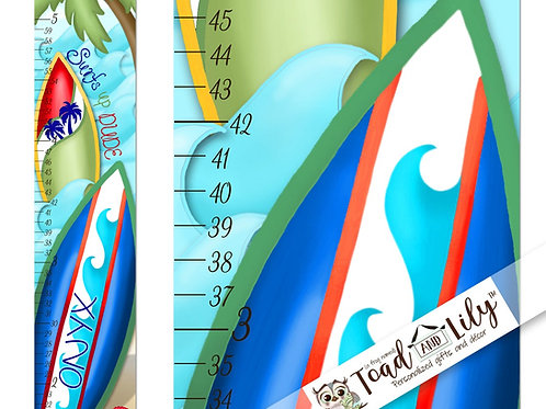 Surfing GROWTH CHART
