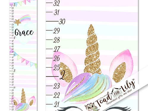 Rainbow Unicorn GROWTH CHART