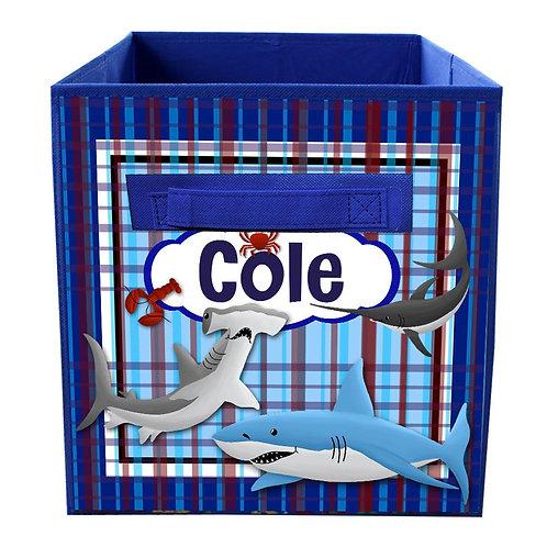 Sharks FABRIC BIN