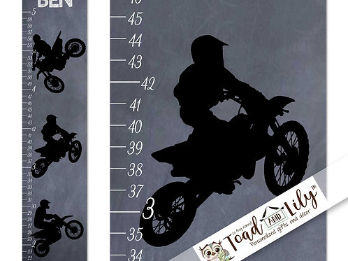 Dirt Bike GROWTH CHART
