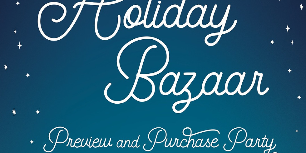 Holiday Bazaar Preview and Purchase Party at Memphis College of Art