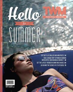 Tulsa World Magazine Cover Shoot