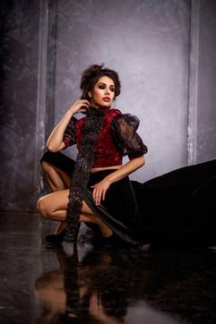Bizarre Couture Photo Shoot for Moira Magazine