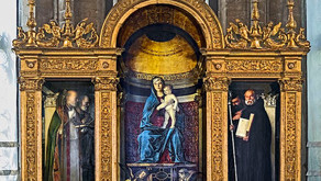 """Giovanni Bellini e il """"Trittico dei Frari"""" Basilica di Santa Maria dei Frari Venezia"""