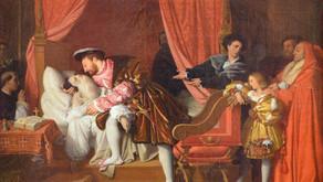 Ingres e Leonardo Da Vinci morente tra le braccia del re Francesco I