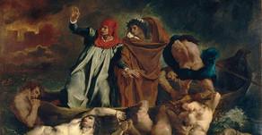 Eugène Delacroix e La barca di Dante