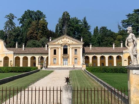 La Villa Barbaro di Andrea Palladio con gli affreschi di Paolo Veronese