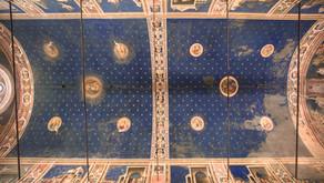 La volta della Cappella degli Scrovegni affrescata da Giotto