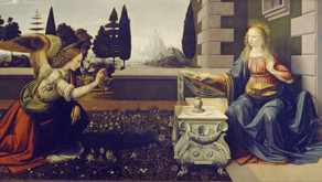 L'Annunciazione di Leonardo Da Vinci