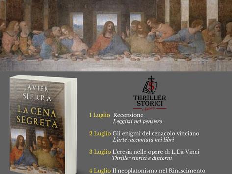 La cena segreta di  Javier Sierra - Gli  Enigmi del Cenacolo Vinciano