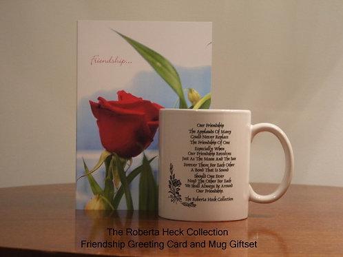 Friendship Greeting Card and Mug Giftset