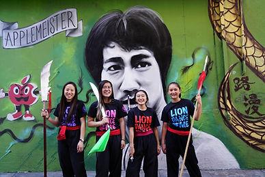 Chinatown bruce lee mural