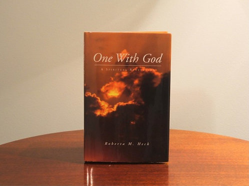One With God - Signed by Roberta M. Heck (Author)