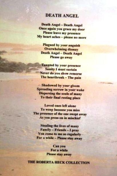 Death Angel Plaque