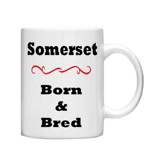 Somerset - 11oz mug - Choice off different handles an colour