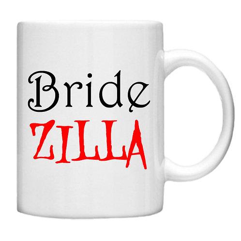 Bride ZILLA - 11oz Mug Design