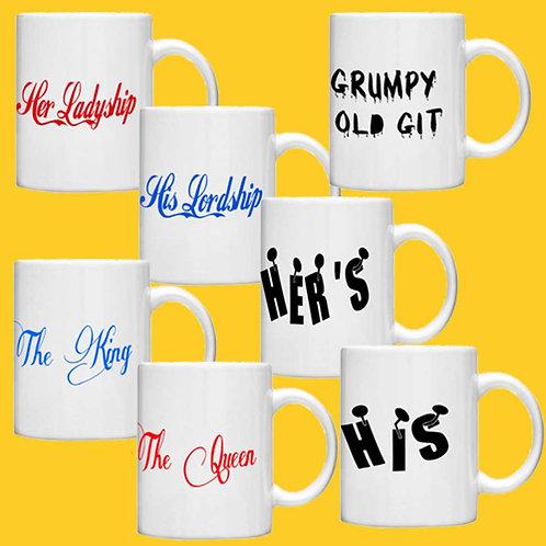Themed Gift Mugs - 7 Designs to Choose from - Standard Mug
