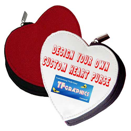 Photo Heart Purse - Personalised