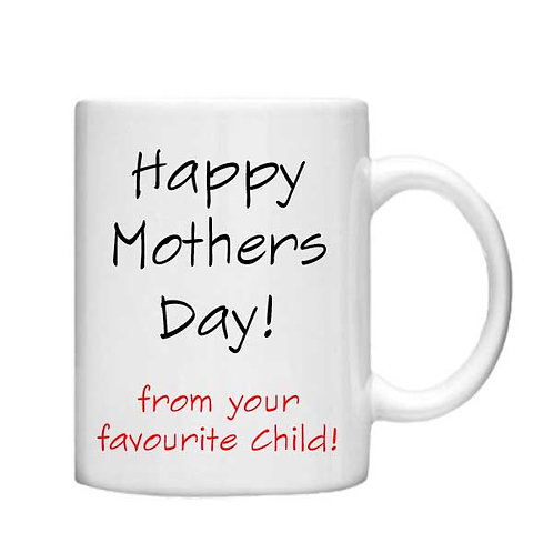 Happy Mothers Day ! 11oz Mug - Choice off different handles and colour