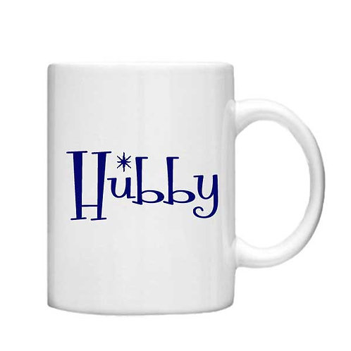 Hubby 11oz Mug - Choice off different handles and colou