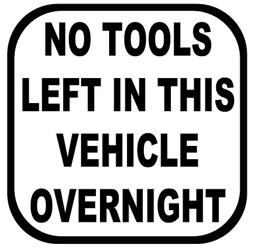 No Tools Vinyl Car/ Window Vinyl Sticker