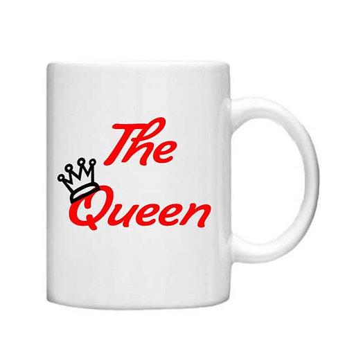 The Queen - 11oz mug - Choice off different handles an colour
