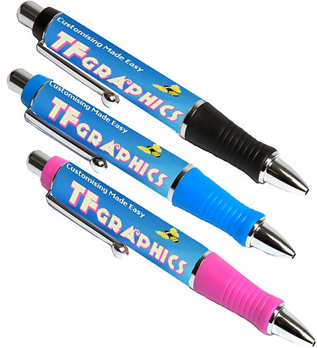 Large Body Pens  - 3 Body Colours - Personalised