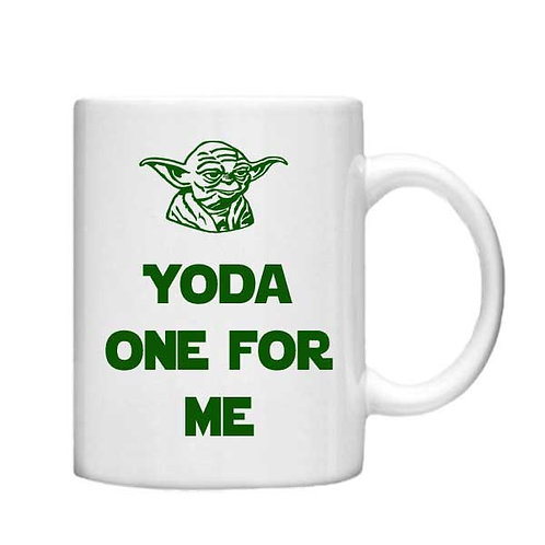 Yoda one for me 11oz Mug - Choice off different handles and colours