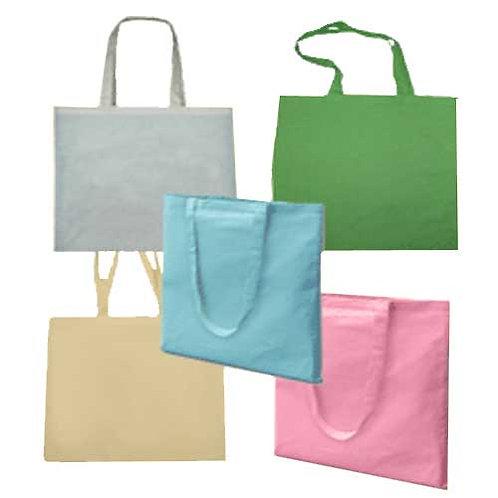 Cotton Shopper Bag - Long Handles Personalised