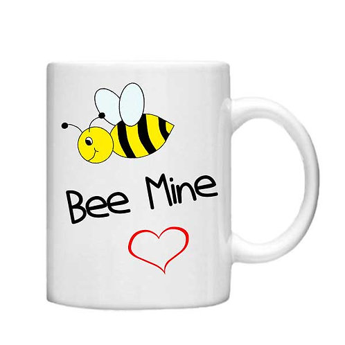 Bee Mine 11oz Mug - Choice off different handles and colou