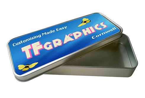 Metal Pencil Tin - Printed to your own Design