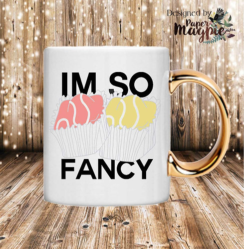 Im So Fancy 11oz Gold Handle Mug