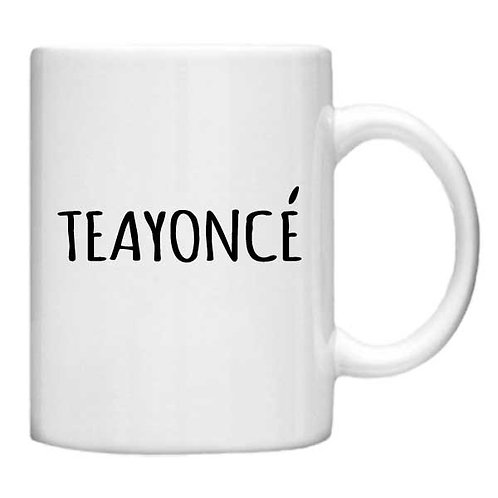 TEAYONCE - 11oz Mug - Choice off different handles and colour