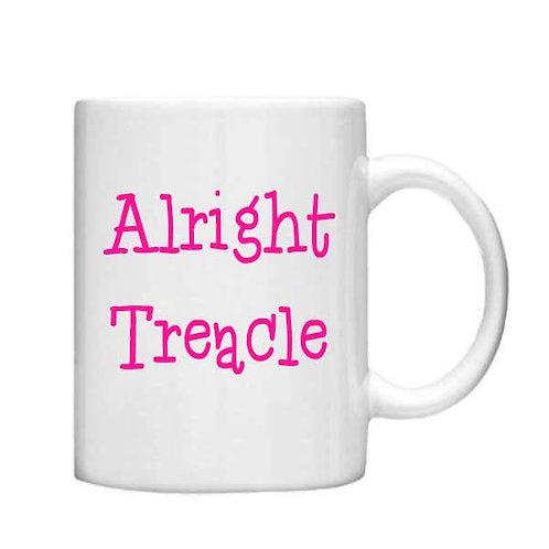 Alright Treacle-11oz mug - Choice off different handles a colour