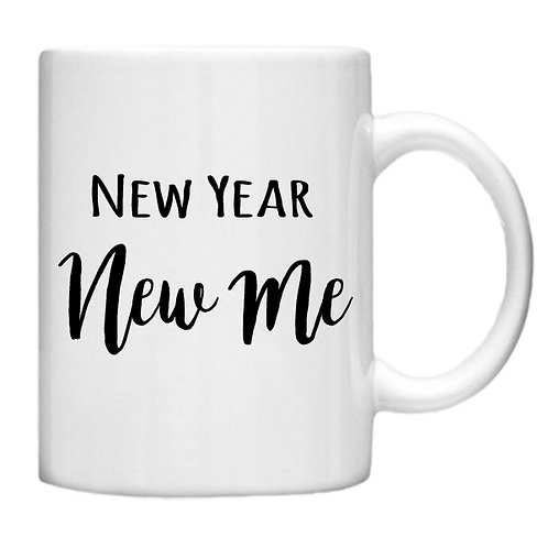 New Year New Me - 11oz Mug Design