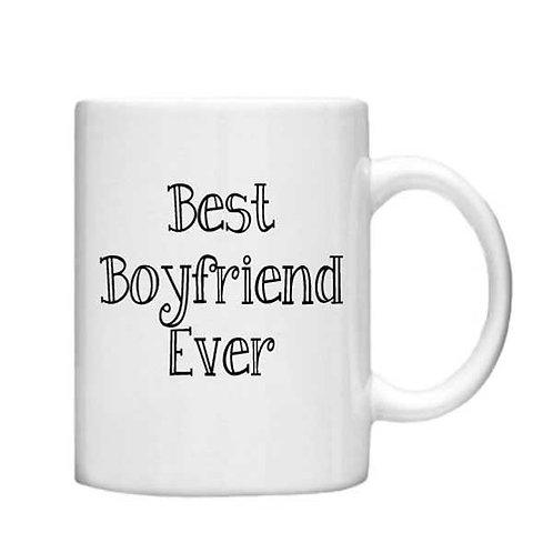 Best Boyfriend Ever 11oz Mug - Choice off different handles and colour